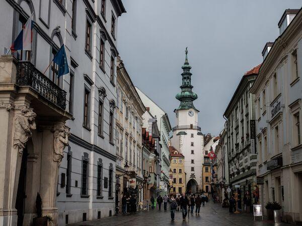 Михальская башня (Михальские ворота) в Братиславе