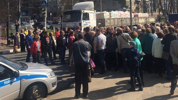 Митинг в Автозаводском районе Нижнего Новгорода. 3 мая 2018