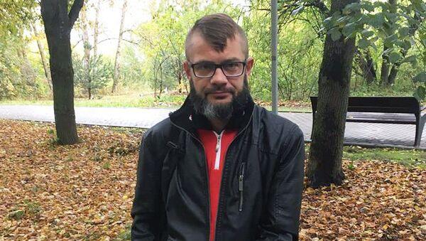 Писатель Сергей Сакин. Архивное фото