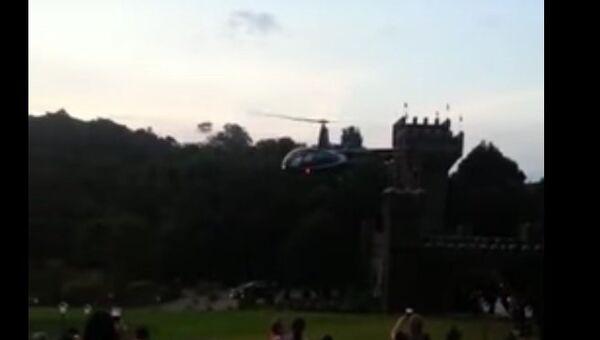 На свадьбе в Бразилии упал самолет с невестой. Скриншот видео