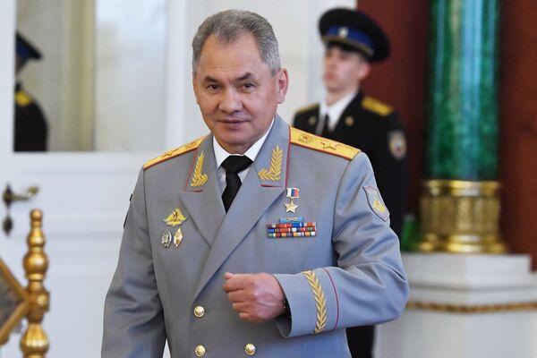 Министр обороны РФ Сергей Шойгу после церемонии инаугурации президента РФ Владимира Путина. 7 мая 2018