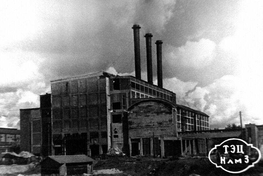 Восстановление ТЭЦ Новолипецкого металлургического завода, 1947 год