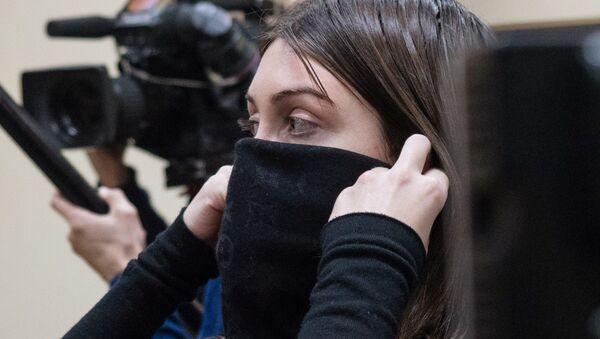 Мара Багдасарян в суде. Архивное фото
