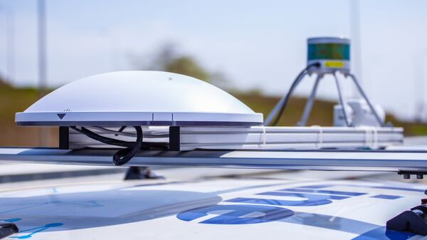 Оборудование на крыше беспилотного автомобиля