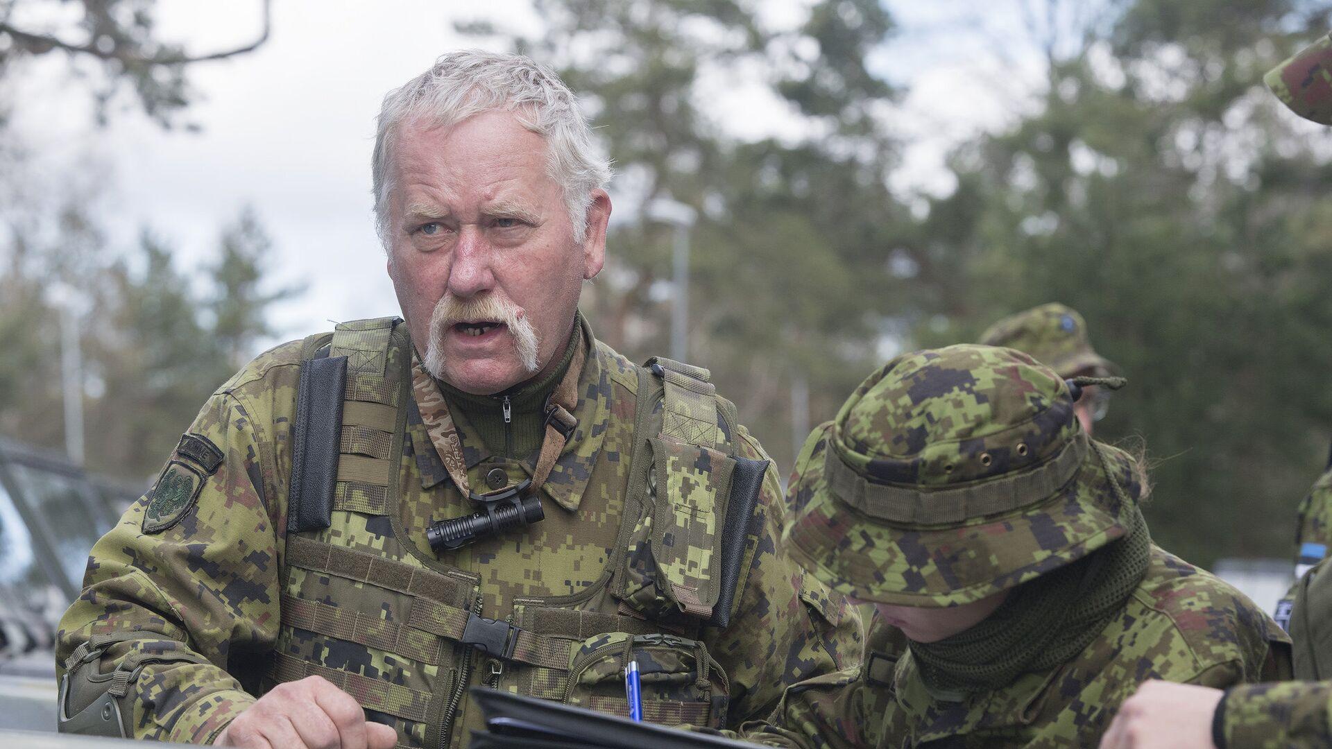 Солдаты эстонской армии во время учений Siil-2018 - РИА Новости, 1920, 10.05.2021