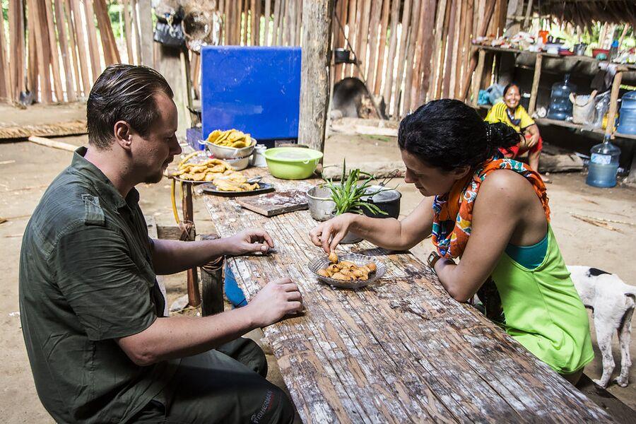 В гостях у шамана племени уитото в Колумбии