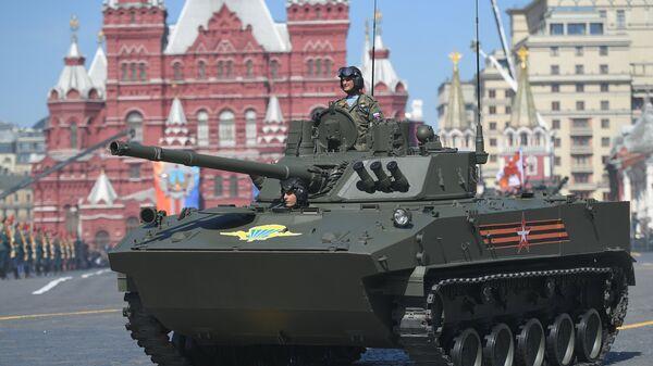 Боевая машина десанта БМД-4М Садовница на военном параде