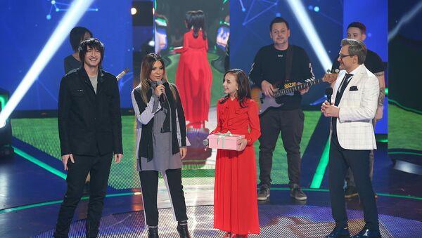 Группа «Город 312» и участница вокального конкурса «Ты супер!» Яна Лоленко