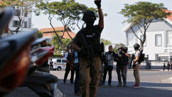 Взрыв в Индонезии. 14 мая 2018 года