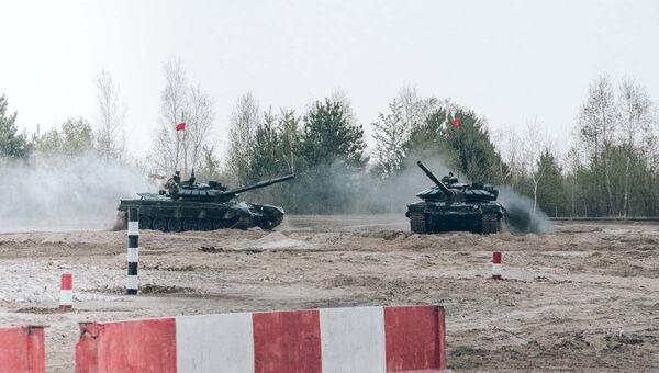 Всеармейские соревнования Танковый биатлон и Суворовский натиск в Амурской области