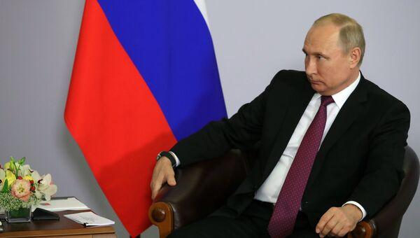 Президент РФ Владимир Путин. 14 мая 2018