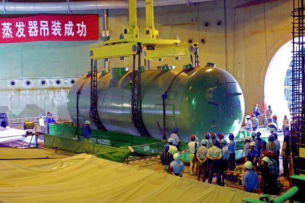 На строительстве первого и второго блоков Тяньваньской АЭС в китайском городе Ляньюнган