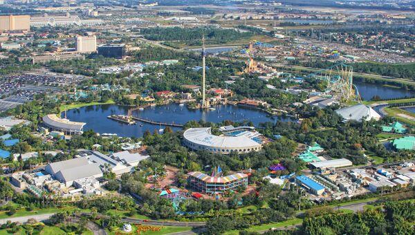 Парк развлечений в Орландо, США