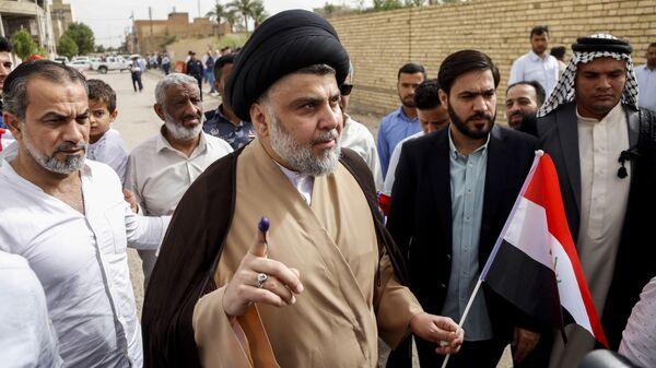 Лидер иракских шиитов, глава парламентского блока Саирун Муктада ас-Садр