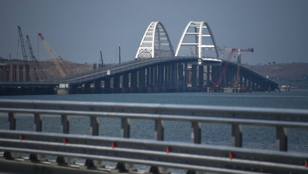 Открытие автомобильной части Крымского моста. 15 мая 2018