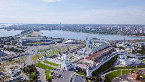 Город Казань. Архивное фото