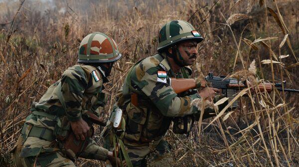Военнослужащие Вооруженных Сил Индии