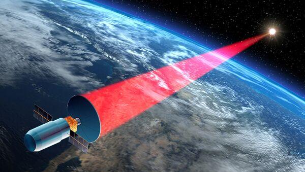 Уничтожение космического мусора лазером
