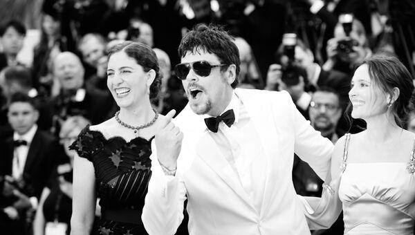 Актер Бенисио дель Торо на красной дорожке церемонии открытия 71-го Каннского международного кинофестиваля