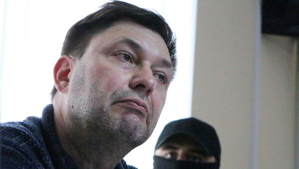 Кирилл Вышинский в суде. 17 мая 2018