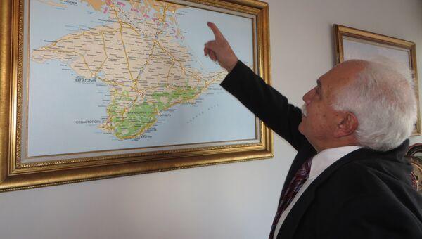 Кандидат в президенты Турции Догу Перинчек