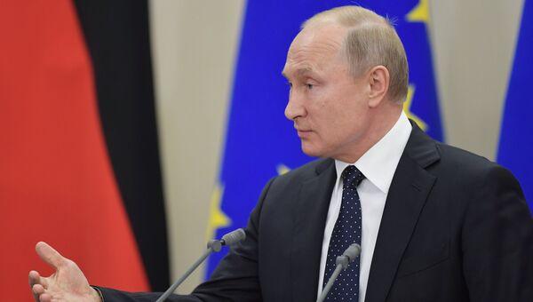 Президент РФ Владимир Путин. 18 мая 2018