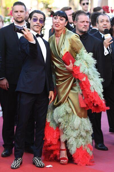 Актриса Росси де Пальма на красной дорожке церемонии закрытия 71-го Каннского международного кинофестиваля