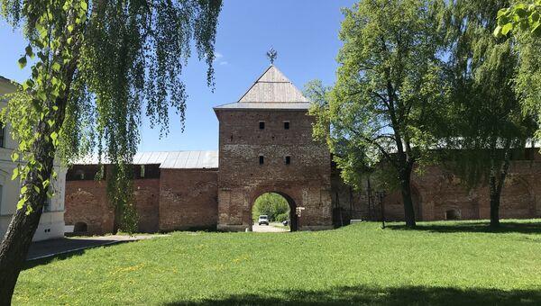 Город Зарайск в Московской области
