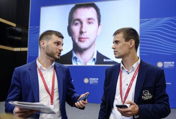 Участники Петербургского международного экономического форума 2018