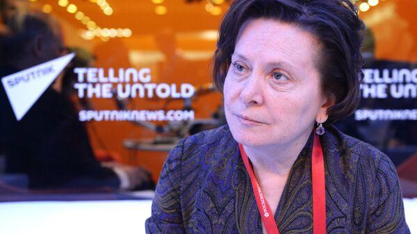 Губернатор Ханты-Мансийского автономного округа - Югры Наталья Комарова