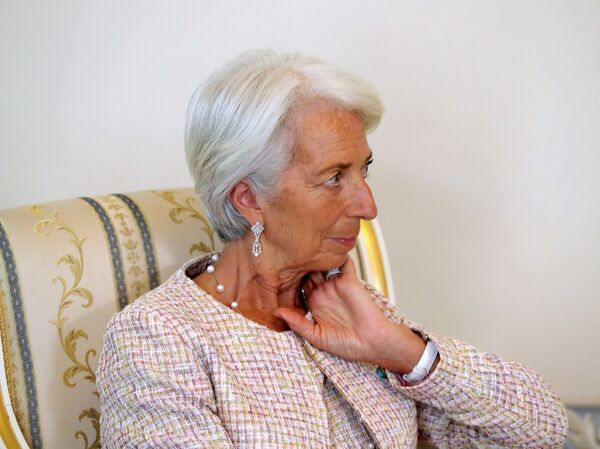 Директор–распорядитель МВФ Кристин Лагард