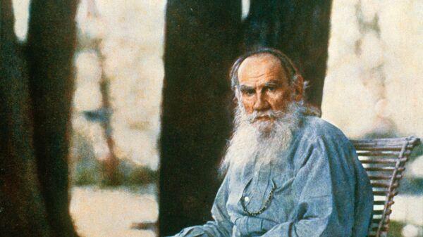 Писатель Лев Николаевич Толстой