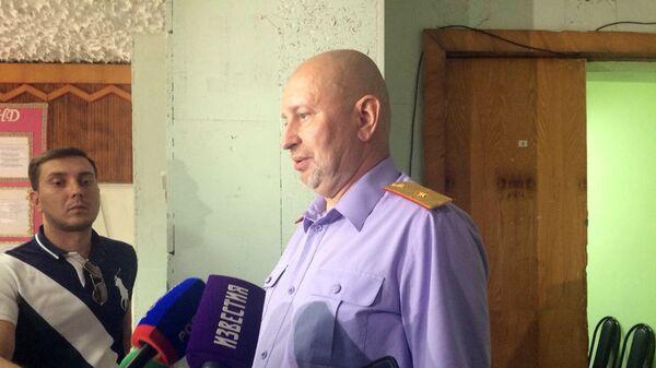Старший помощник председателя СК РФ Игорь Комиссаров