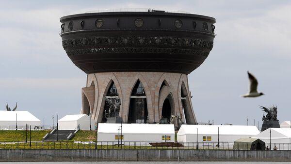 Парк болельщиков в Казани. Архивное фото