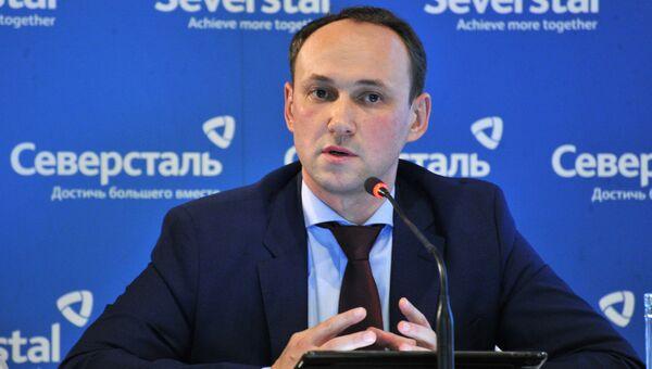 Генеральный директор Северстали Александр Шевелев
