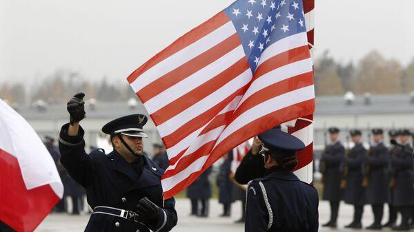 Открытие базы ВВС США в Ласке, Польша. 2012 год