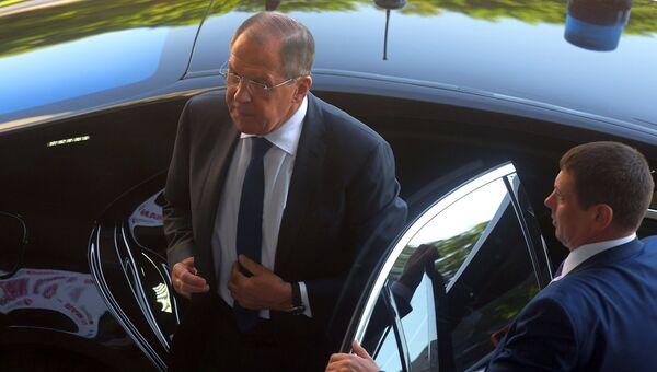 Министр иностранных дел РФ Сергей Лавров на форуме Примаковские чтения. 30 мая 2018