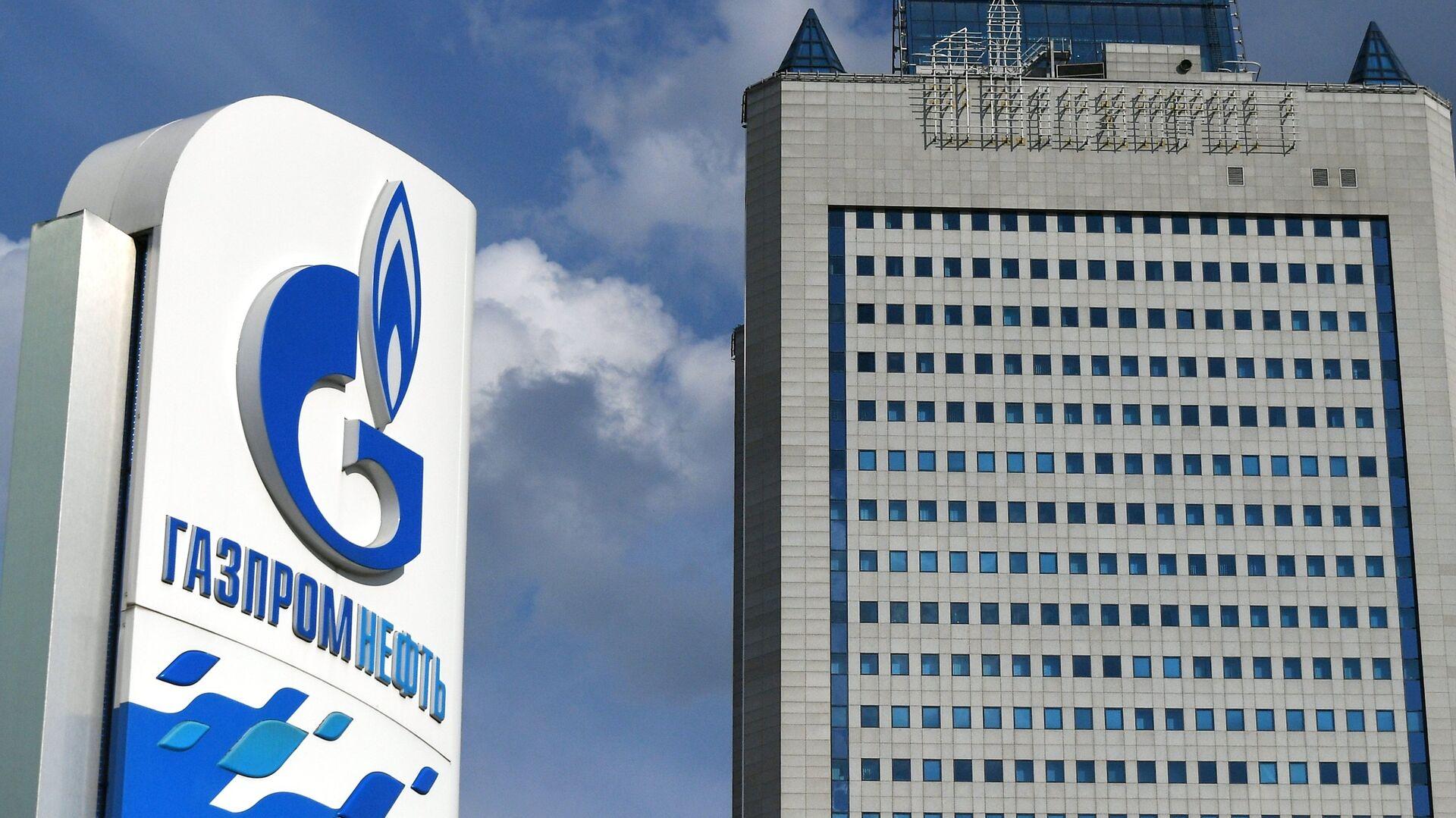 Здание компании Газпром в Москве  - РИА Новости, 1920, 24.07.2021