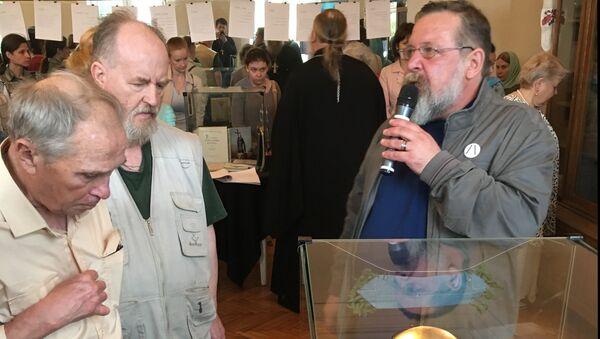 На выставке Живые, посвященной повседневному быту христиан в СССР