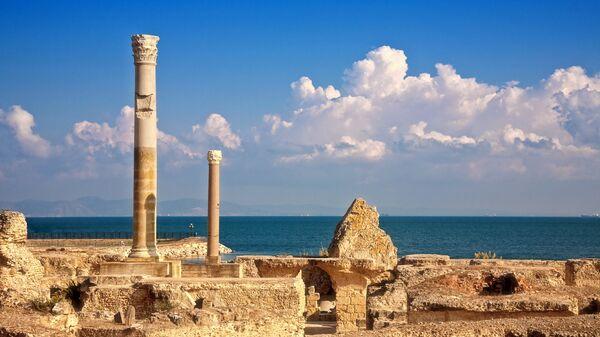 Руины города Карфаген, Тунис