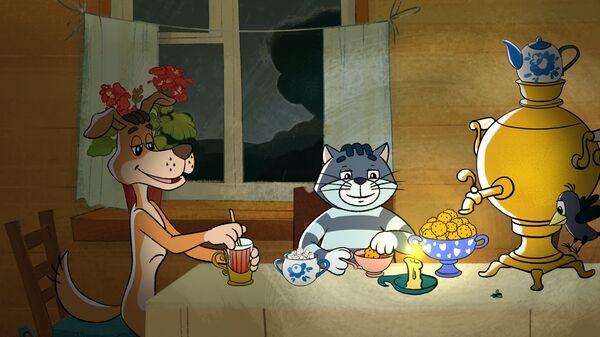 Кадр из мультфильма Простоквашино(2018). Архивное фото