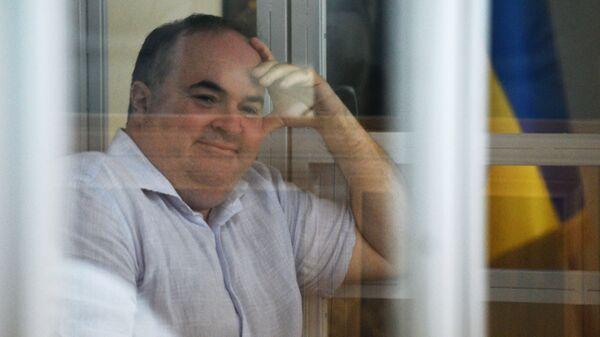 Директор украинского предприятия по производству оружия Борис Герман, обвиняемый в организации покушения на журналиста Аркадия Бабченко