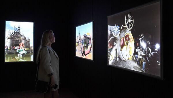 Предпоказ выставки Бэнкси в Москве. Архивное фото