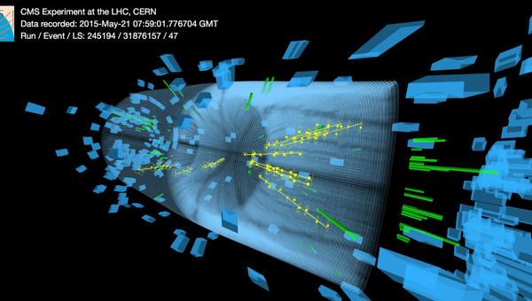 Рождение новых частиц в детекторе CMS на Большом Адронном Коллайдере