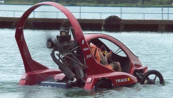 Аппарат способный летать, ездить и плавать