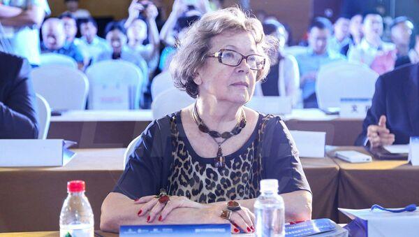 Ольга Зиновьева на форуме инноваций и развития в международной культурной торговле в Пекине