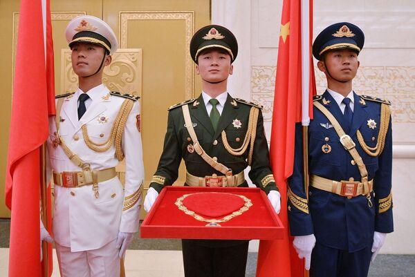 Орден Дружбы КНР для вручения президенту РФ Владимиру Путину