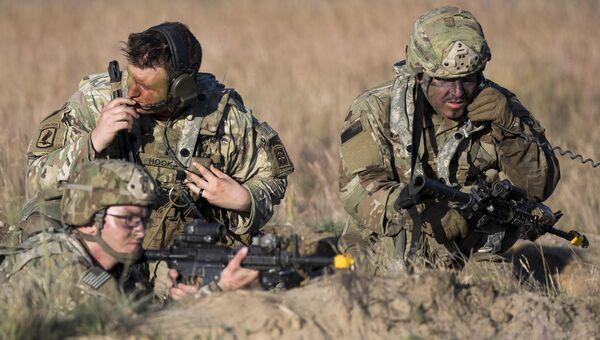 Американские десантники на военных учениях Sabre Strike 2018, Литва. 9 июня 2018