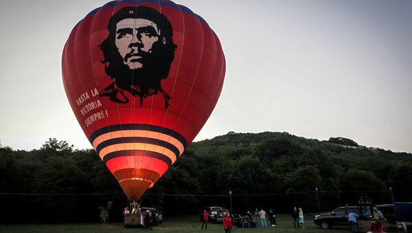 Участники фестиваля воздушных шаров в Ставропольском крае