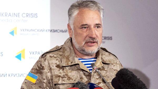 Губернатора Донецкой военно-гражданской администрации Павел Жебривский. Архивное фото